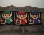 Legend of Zelda Link pillow