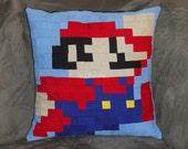 Super Mario Bros Mario pillow