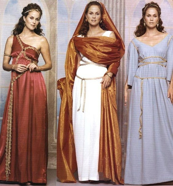 Greek Prom Dresses Uk Pictures Fashion Gallery: McCall's 3514 GREEK ROMAN Gown Toga Costume SEWING PATTERN