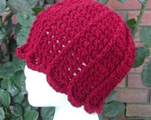 Crochet Cloche Hat Pattern, Tulip Hat Pattern, Tulip Crochet Pattern PDF