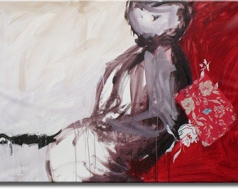 """Remember 72""""X48"""" Inches Original painting"""