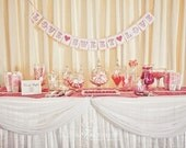Made to Order - Large Letter Paper Garland Party Banners