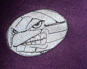 "VB Blanket Optional Personalization Embroidered Volleyball Purple Fleece Blanket 50"" x 60"" VB Athlete"