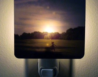 Clearance DISCONTINUED Polaroid Photo Night Light - How to Catch a Falling Star - Unique Housewarming Gift, Whimsical Home Decor
