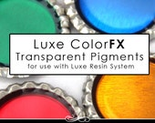 Epoxy Resin Pigment. Luxe Color FX Gorgeous Transparent Color Dye for Resin. 1/2 oz