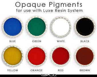Epoxy Resin Pigment. Luxe Color FX Gorgeous Opaque Color Dye for Resin. 1/2 oz