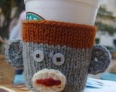 Coffee cup cozy - George