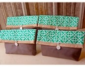 clutch set 4 5 6 bag burlap lace rustic purse Bridesmaid gift grey Pouch etsy Wedding Favor Design Your Own Red Black MakeUp