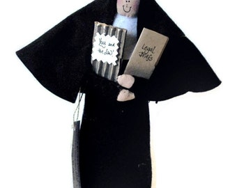 Catholic Gift Nun Doll - Catholic humor Sister Sue the Sister in Law