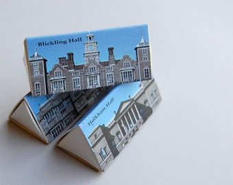 Stylish matchbox mini gift set -- British D-Lites -- Stately homes