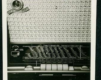 vintage photo short wave radio