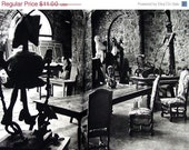 Pablo Picasso - The Silent Studio, David  Duncan Photography of an Artists Studio, 1976 Book