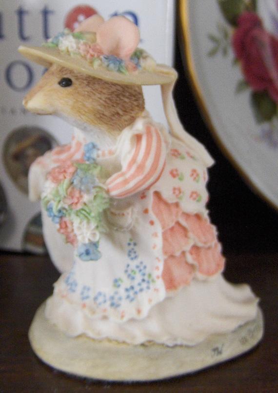 Vintage Brambly Hedge - Jill Barklem - Poppy Eyebright - Bride - Border Fine Arts