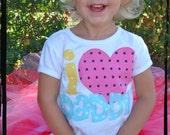 I HEART DADDY T-shirt or Onesie