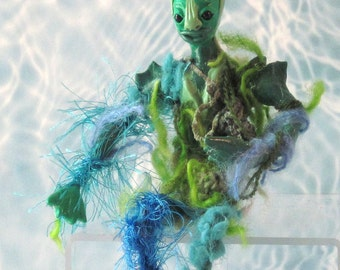 Dollhouse doll Fish Creature miniature