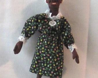 Miniature OOAK African-American Granny