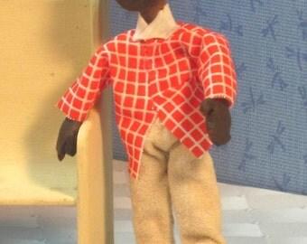 Kevin, a Miniature dollhouse doll