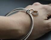 Family Jewel Box - silver  bracelets - set of 3