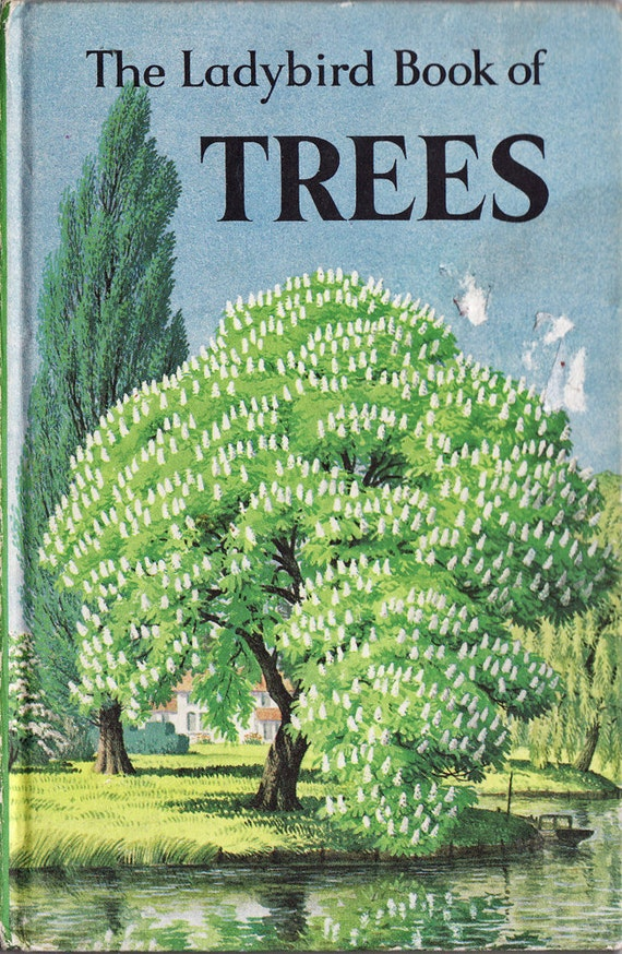 Vintage Ladybird Book of Trees - Beautiful Book of Britain's Trees, 1963