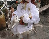 Rose, the Good Witch-cloth doll class -PDF file