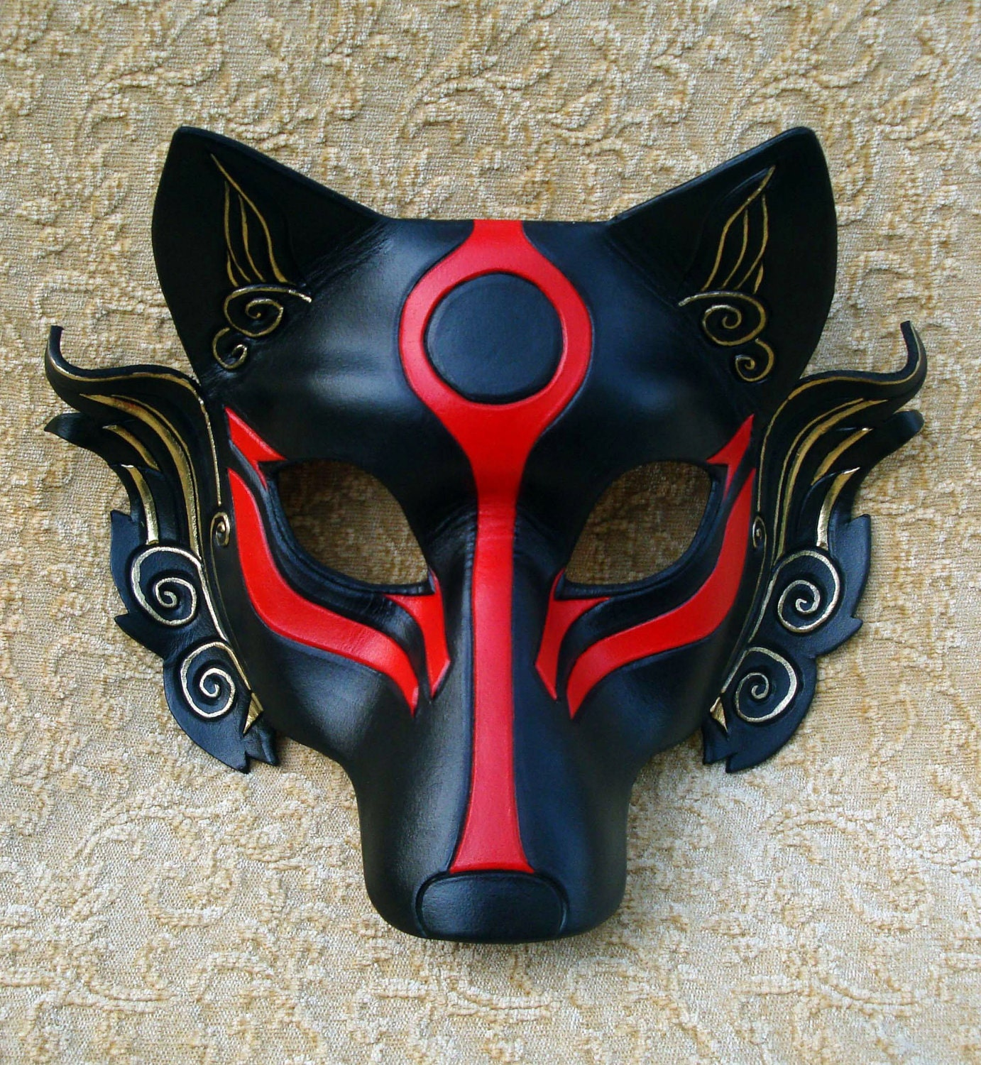 Japanese wolf mask - photo#8
