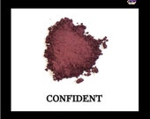 Confident - Intensity Eye Shadow - Deep Burgundy with Burnt Red Pearl Effect - The Best is Here