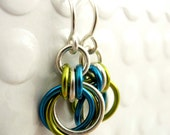 Sterling Silver Little Cuties with YOU Pick Two Colors