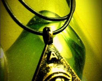 Anting Anting All Seeing EYE of GOD talisman trespicu amulet pendant agimat Free Orasyon