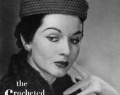 The Crocheted Pill Box - Vintage Crochet Hat Pattern - 1940s 50s - PDF eBook