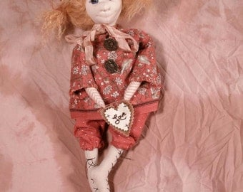 The Little Knob Girl, new sewing pattern for 2012, digital download