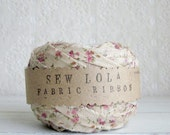 fabric ribbon - romantic cottage (last one)