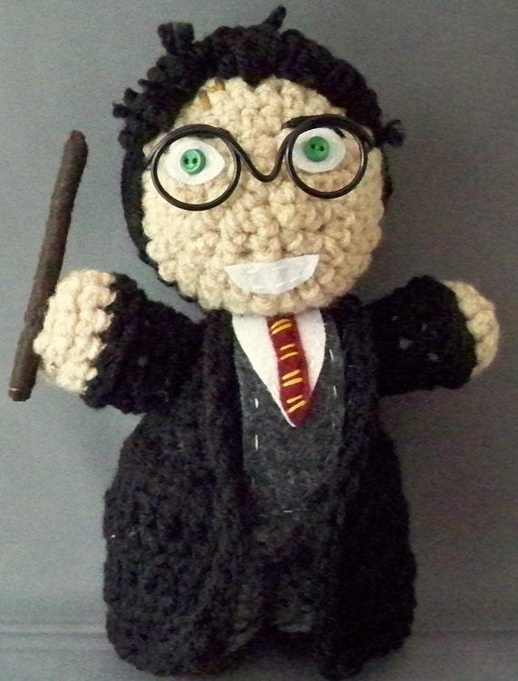 Amigurumi Harry Potter : Harry Potter amigurumi by LLsCreations83 on Etsy
