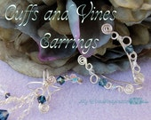 Cuffs AND Vines Earrings, Jewelry Tutorial Package, 25 Percent Discount, Instant Download PDF Files