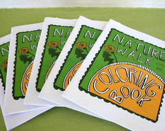 Printable Nature Walk Coloring Book