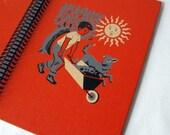 CHILDCRAFT Science and Industry, Vintage Children's Book Journal, Scrapbook, or Notebook
