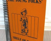 The Young Folks Shelf of Books, Upcycled Vintage Book Journal, Sketchbook