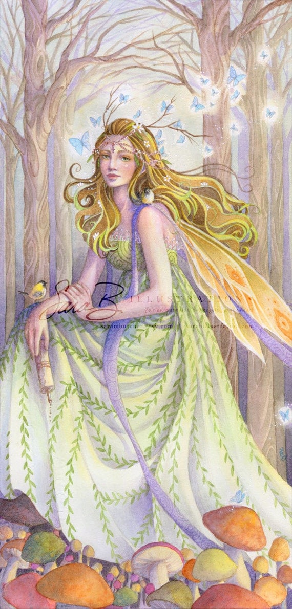 Unavailable listing on etsy for Fairy painting easy