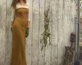 Organic Love Me 2 Times Simplicity Long Fleece Dress (organic hemp/cotton fleece)
