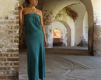 ORGANIC Floating Tube Wanderer Long Dress (light hemp/organic cotton)