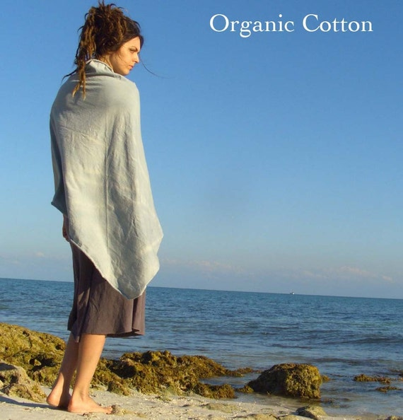ORGANIC GREAT GIFT - Pop Over - ( light hemp and organic cotton knit ) - organic cotton