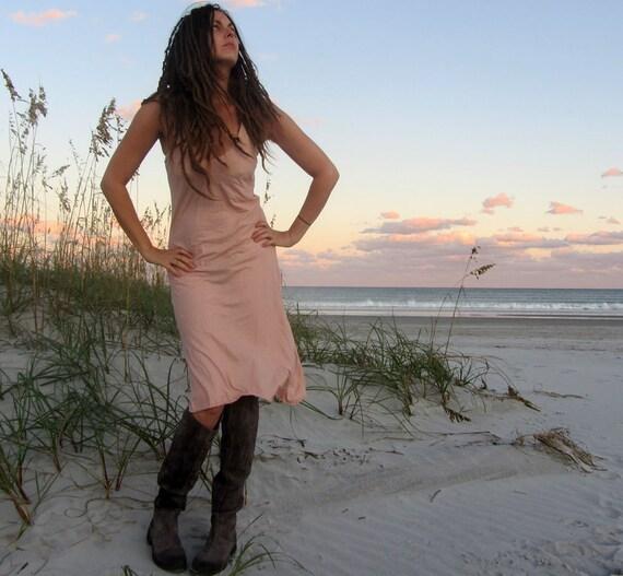Organic Slip Short Dress (organic tissue cotton) - organic dress