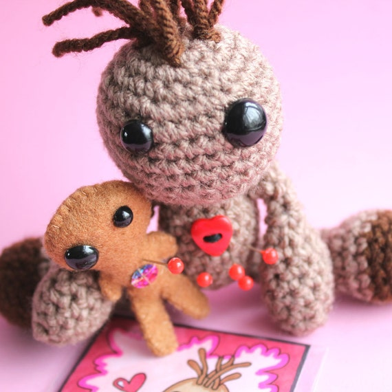 Mini Me the Amigurumi Voodoo Doll