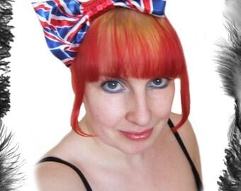Union Jack Royal Wedding Big Hair Bow