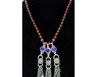 Vintage Tribal Necklace, Afghanistan, 16