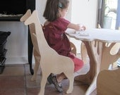 Giraffe Chair from  The Child's Menagerie Furniture Collection by Paloma's Nest