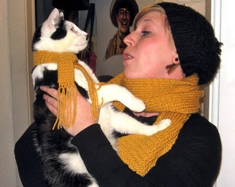 Scarf Set - For Kitty (or Doggie) and Me