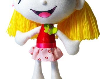 Harriette Cloth Doll