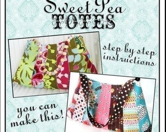 Easy Strips Bag ebook PDF Sewing Pattern / Sweet Pea Totes