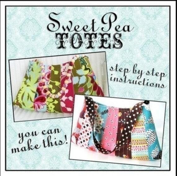 Easy Strips Bag ebook PDF Sewing Pattern / Sweet Pea Totes