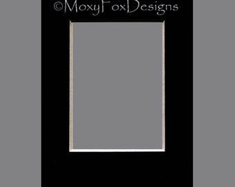 ONLY for Buyer of a MoxyFoxDesigns ACEO --  Matts Professionally Cut 4-Ply Deep Bevel Upgrade Free U.S. Shipping